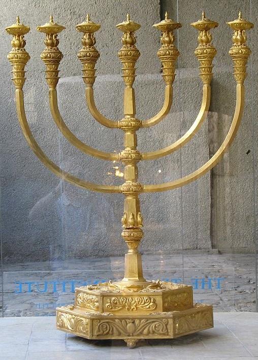Menorah - biểu tượng chân chính của Do Thái giáo