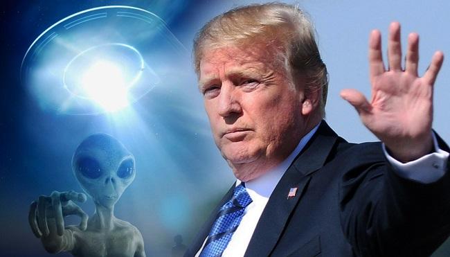 TT Trump cho biết, các vấn đề xoay quanh người ngoài hành tinh rất thú vị