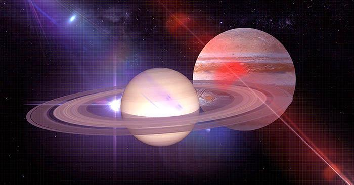 """Sao Mộc thắng hàng với sao Thổ là hiện tượng thiên văn xuất hiện 800 năm trước, dự báo Địa cầu sắp xảy ra """"biến lớn"""""""
