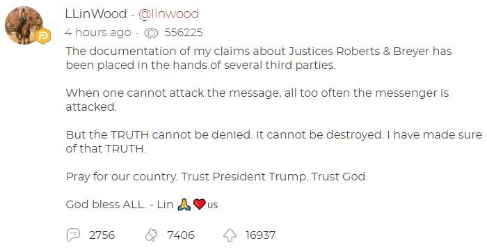 LS Linwood phanh phui Chánh án Tối cao John Robert có ý quyết ngăn TT. Trump tái đắc cử  - Ảnh 6