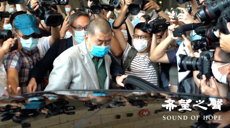 Ông Lê Trí Anh (Jimmy Lai) bị bắt giữ ngày 2/12