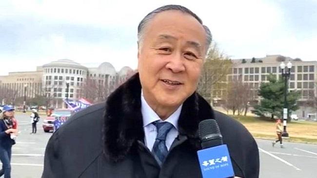 Ông Viên Cung Di phỏng vấn cùng Sound Of Hope