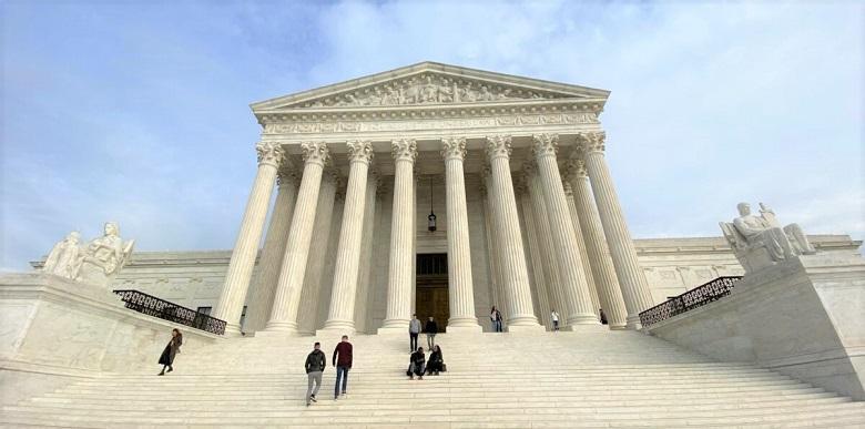 Tòa án Tối cao Hoa Kỳ tại Washington, DC vào ngày 1/ 2/2020