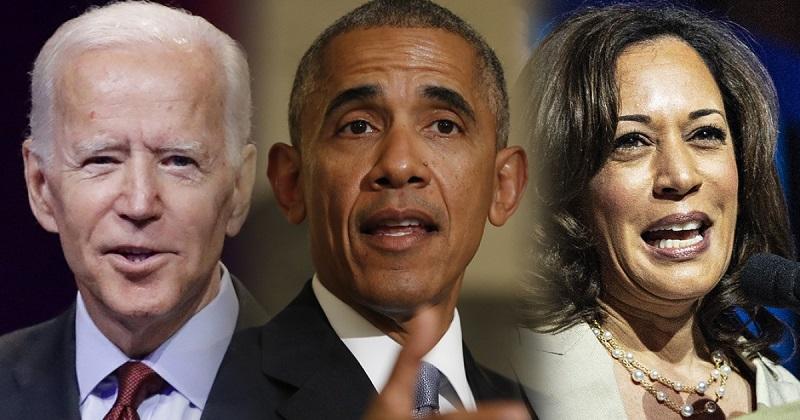 Joe Bien, Obama và Kamala Harris