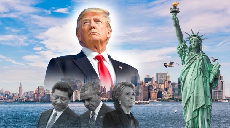 Tổng thống Trump biết rõ cuộc bầu cử gian lận này có sự tham gia của cả thù trong giặc ngoài