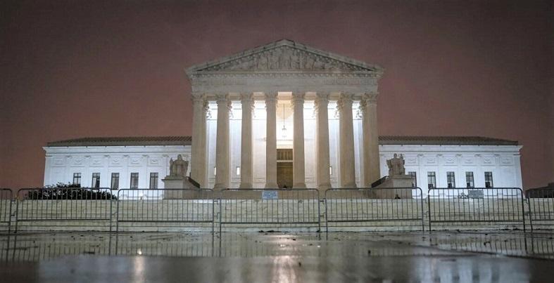 Tòa án Tối cao Hoa Kù tại Washington vào ngày 12/10/2020