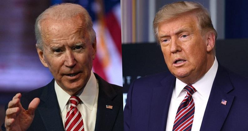 Tổng thống Donald Trump và Ứng cử viên tổng thống của đảng Dân chủ Joe Biden