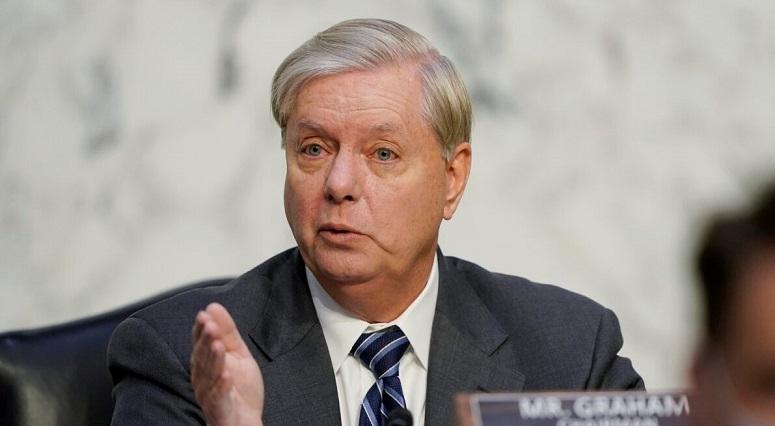 Thượng nghị sĩ Lindsey Graham phát biểu trong phiên điều trần xác nhận cho ứng cử viên Tòa án Tối cao Amy Coney Barrett, trước Ủy ban Tư pháp Thượng viện, vào ngày 14/10/2020