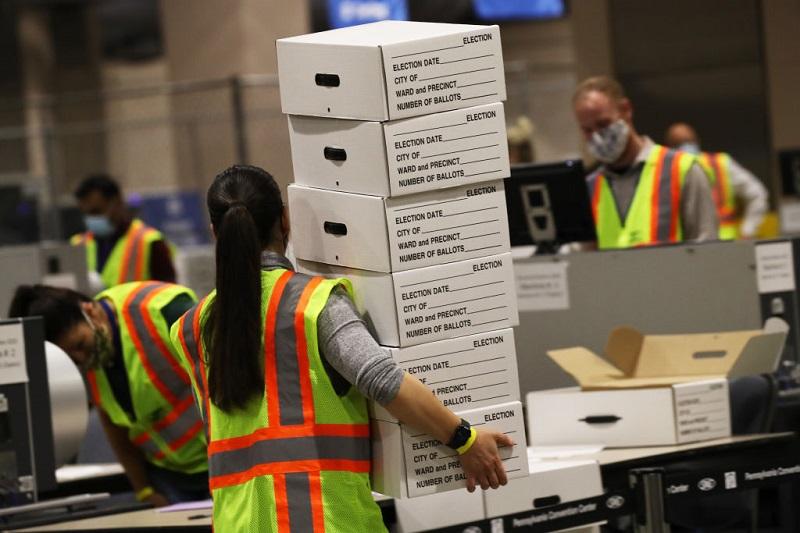 Sắp đặt bầu cử Mỹ