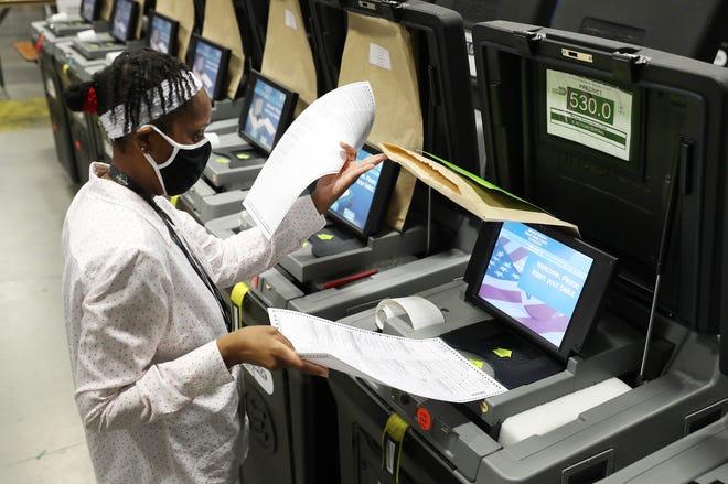 Máy bỏ phiếu Dominion ở Georgia Giao tiếp với nhà cung cấp ở Trung Quốc