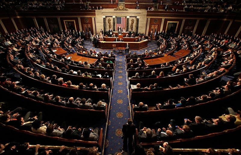Một phiên họp của các nghị sĩ Mỹ