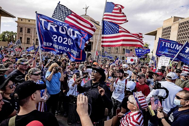 Người dân ủng hộ TT trump