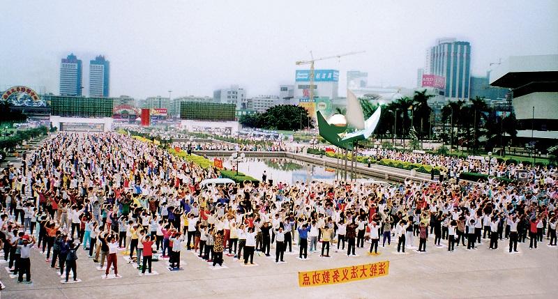 Hàng triệu người dân Trung Quốc tự do tập Pháp Luân Công