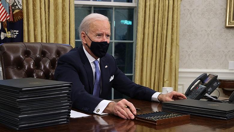 Tổng thống Joe Biden chuẩn bị ký sắc lệnh hành pháp đầu tiên sau lễ nhậm chức ngày 20/1/2021