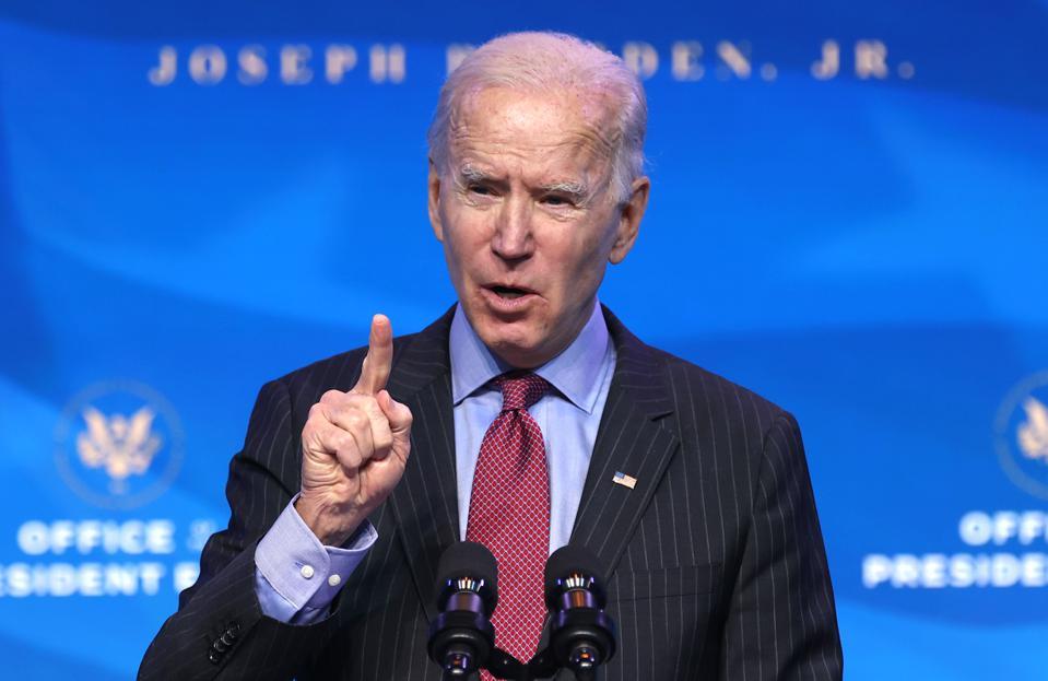 Joe Biden tại Delaware ngày 8/1