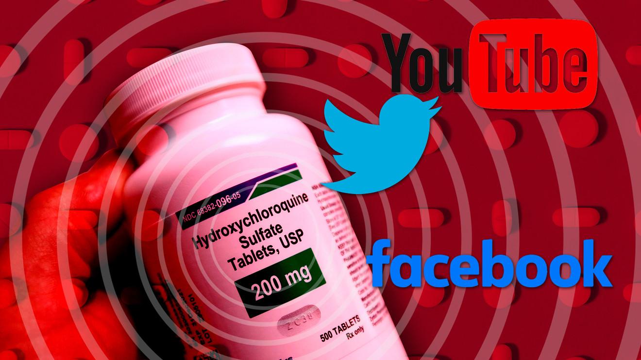 Facebook thay đổi thái độ về tác dụng của thuốc ký ninh trong điều trị viêm phổi Vũ Hán