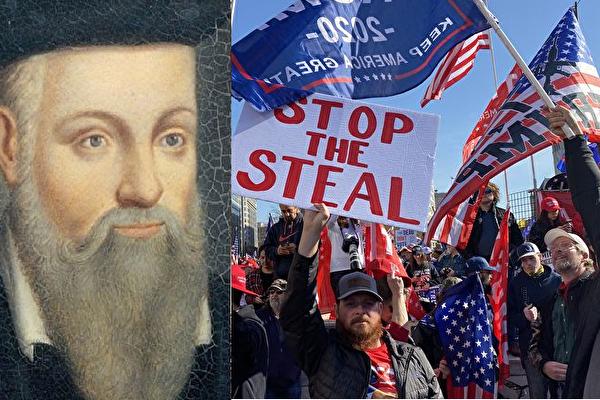 Nostradamus tiên tri: Gian lận bầu cử Mỹ soán quyền, tiết lộ kẻ chủ mưu - Ảnh 1