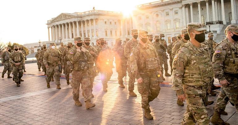 Hơn 20.000 vệ binh quốc gia sẽ có mặt tại Washington D.C vào thời điểm lễ nhậm chức.