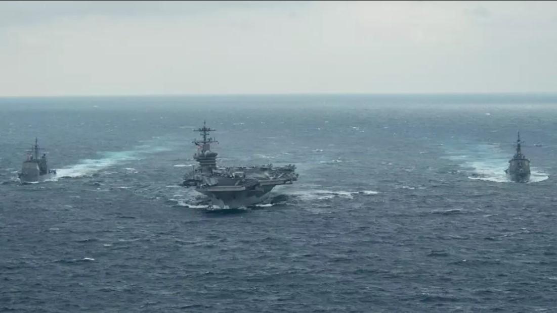 Tàu sân bay Mỹ trở lại Biển Đông, lần đầu tiên từ khi Biden nhậm chức tổng thống
