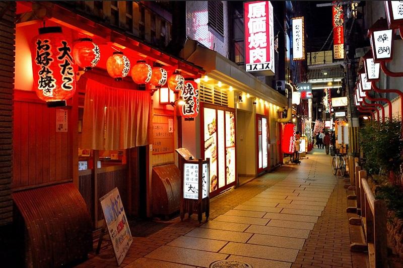 Tiệm mì Nhật Bản