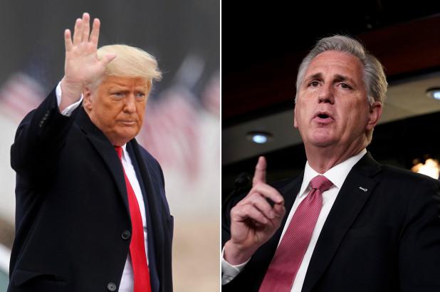 Cựu TT Trump sẽ gặp Hạ nghị sĩ Kevin McCarthy ở Florida
