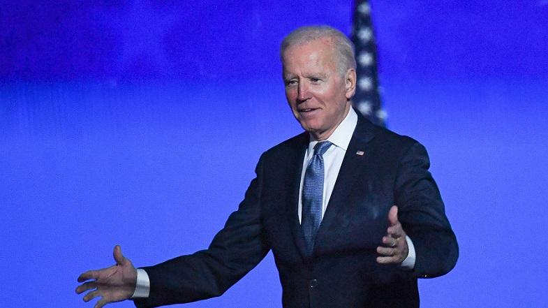 Tổng thống Joe Biden khi đó đang là ứng cử viên Đảng Dân chủ tại bang Delaware ngày 3/11/2020.