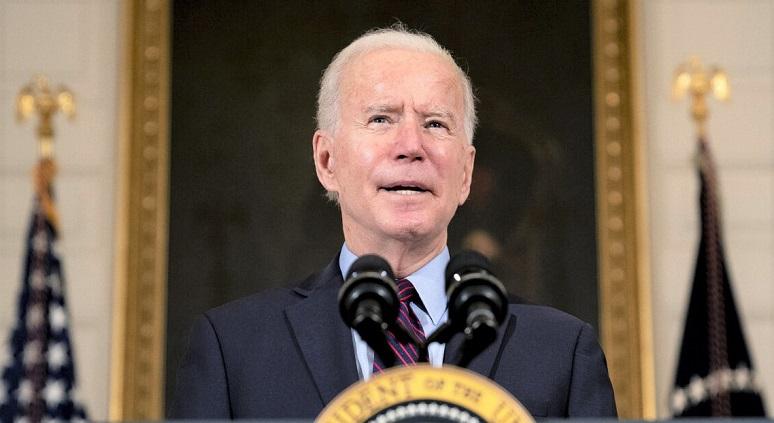 Tổng thống Joe Biden phát biểu tại Nhà Trắng vào ngày 5/2/2021