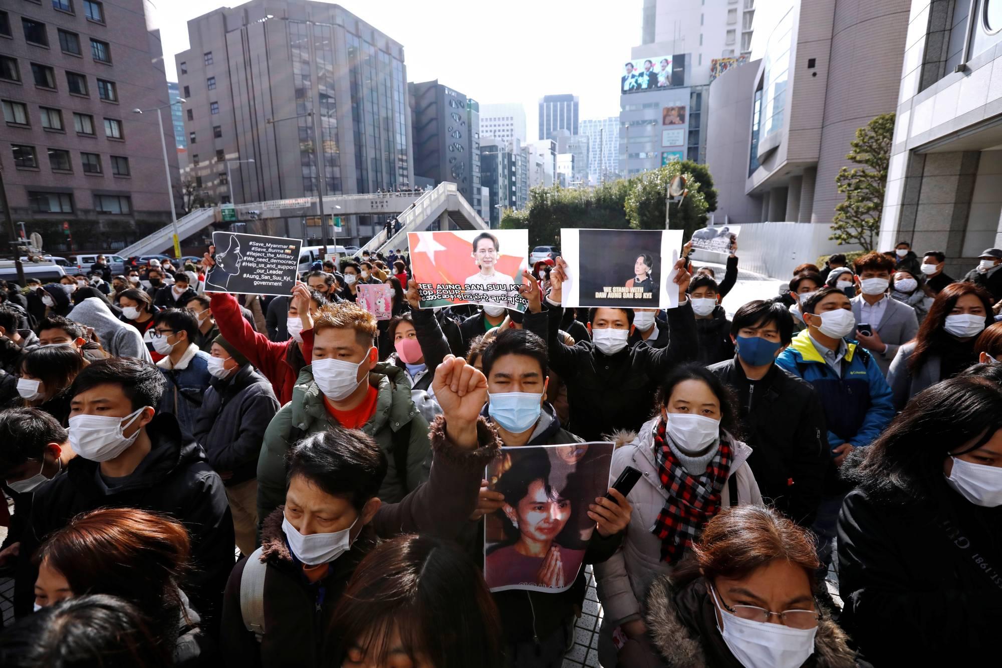 Cộng đồng Myanmar ở Nhật Bản sốc và lo lắng sau khi bà Aung San Suu Kyi bị giam giữ - Ảnh 3