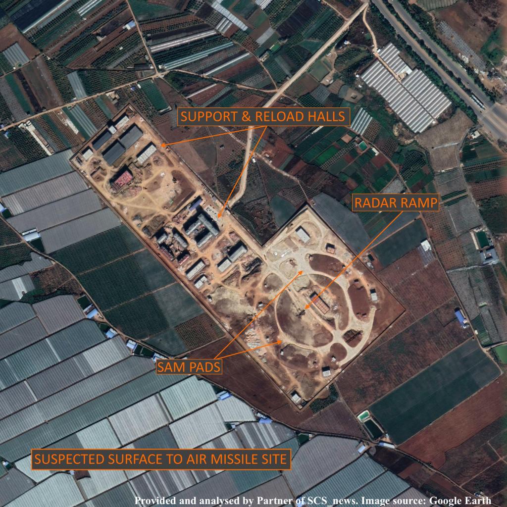 Trung Quốc đang xây căn cứ tên lửa đất đối không thứ hai gần biên giới Việt Nam? - Ảnh 1