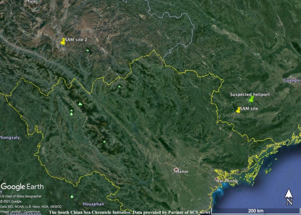 Trung Quốc đang xây căn cứ tên lửa đất đối không thứ hai gần biên giới Việt Nam? - Ảnh 2