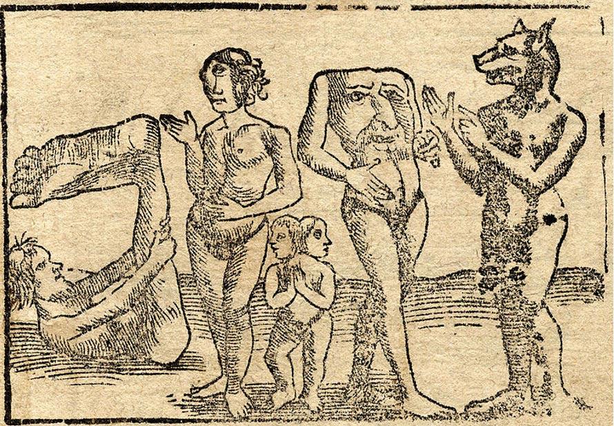 Sinh vật bí ẩn thời cổ đại (P1): Tộc người không đầu Blemmyes - ảnh 2