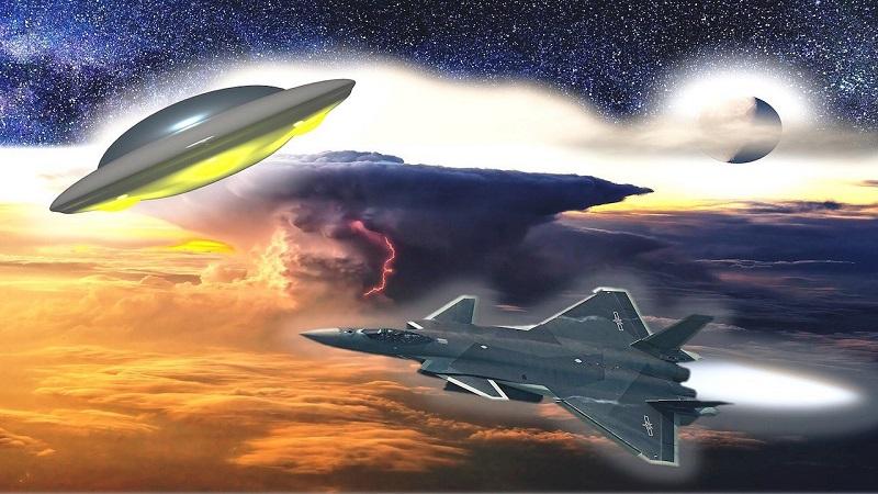 UFO chạm trán với không quân