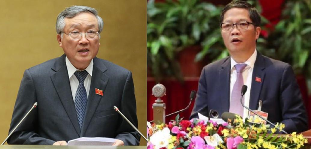 Bộ trưởng Công thương Trần Tuấn Anh và Chánh án Nguyễn Hòa Bình được bầu vào Bộ Chính trị