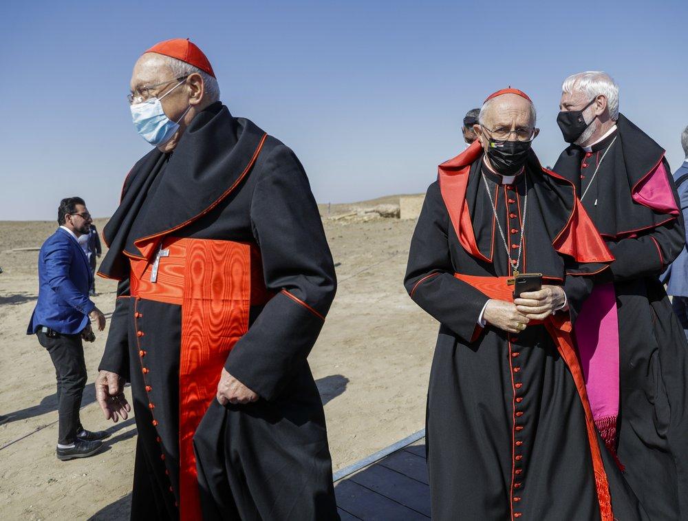 Giáo hoàng cùng giáo sĩ Shiite hàng đầu Iraq truyền tải thông điệp chung sống hòa bình - Ảnh 2
