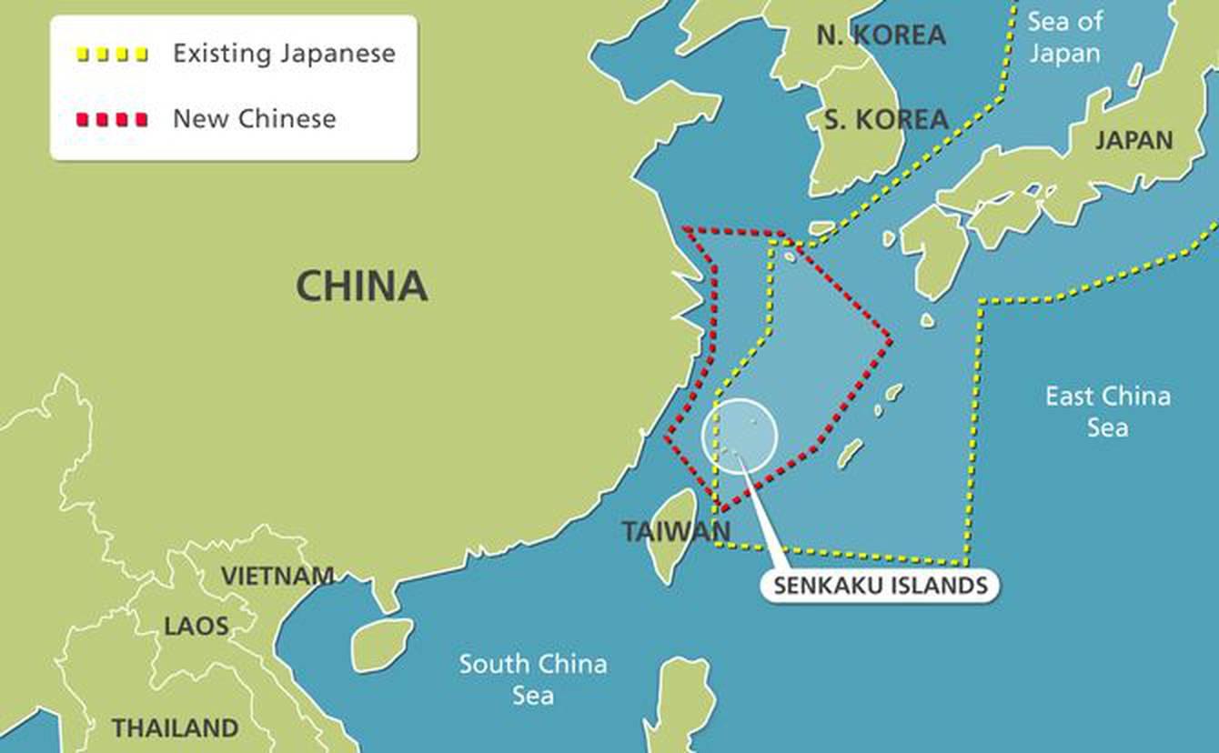 Căng thẳng Trung Nhật leo thang xung quanh quần đảo Senkaku