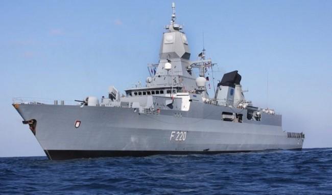 Đức đưa tàu chiến đầu tiên qua Biển Đông trong gần 2 thập kỷ