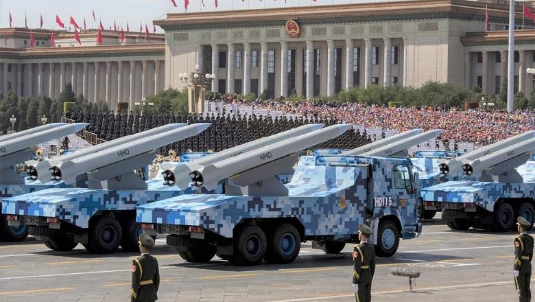 Tên lửa Trung Quốc trong lễ duyệt binh tại Quảng trường Thiên An Môn và Đại lễ đường Nhân dân tại Bắc Kinh vào ngày 3/9/2015