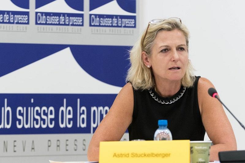 bác sĩ Astrid Stuckelberger