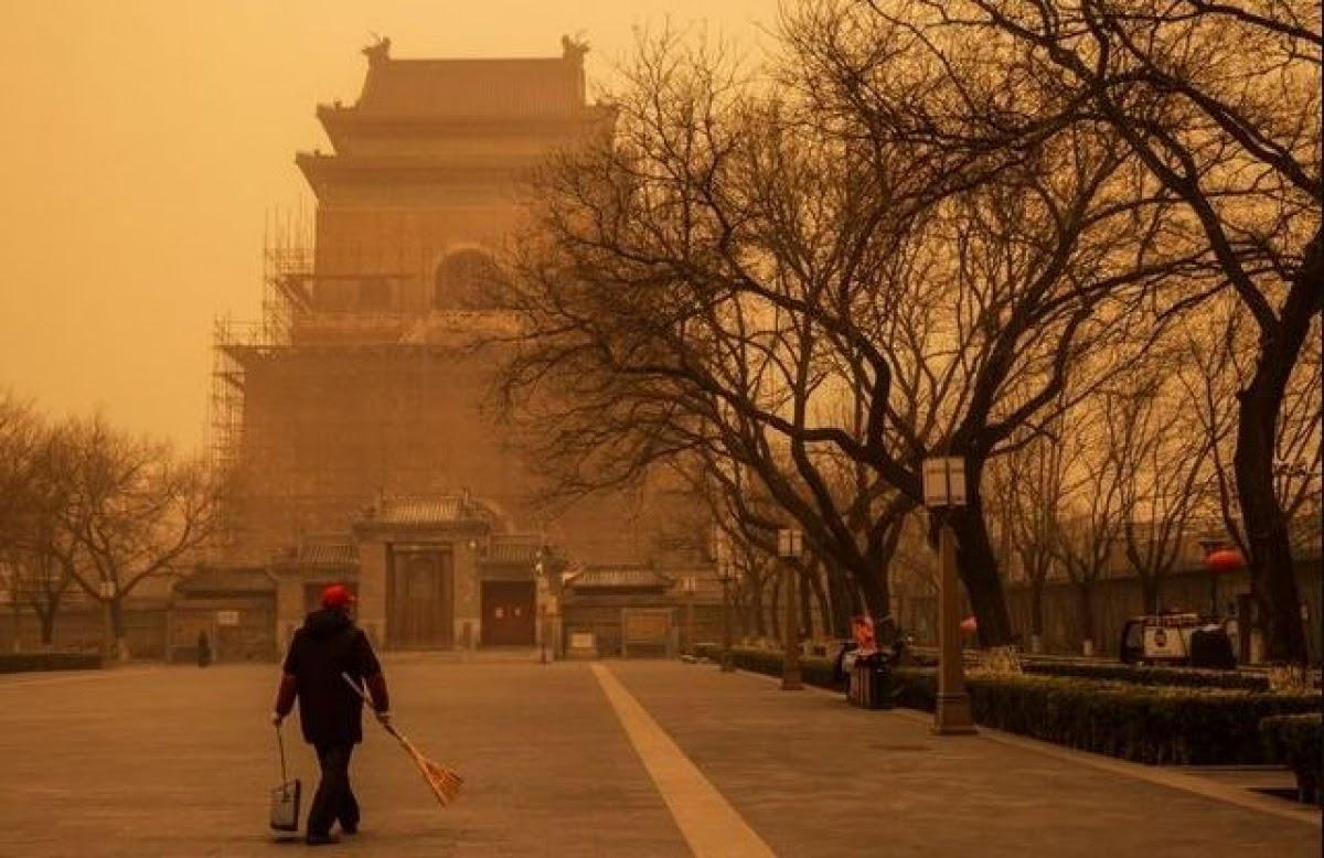 bão cát Bắc Kinh