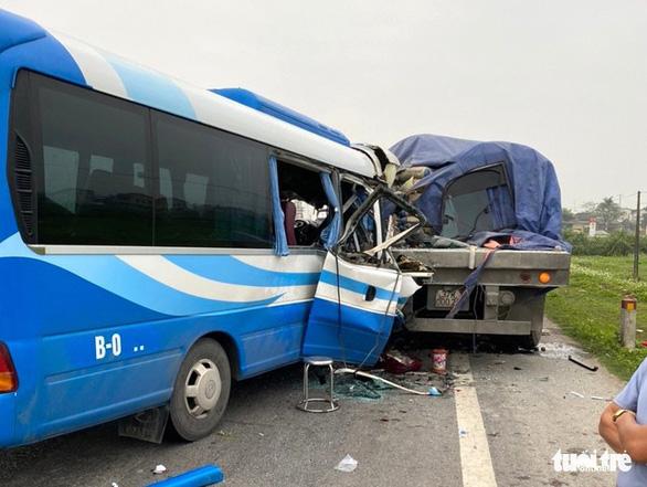 Nghệ An: Bắt tài xế xe khách gây tai nạn làm 3 người chết, 19 người bị thương