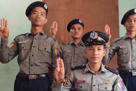 Myanmar yêu cầu Ấn Độ trao trả các cảnh sát bỏ trốn sau cuộc đảo chính