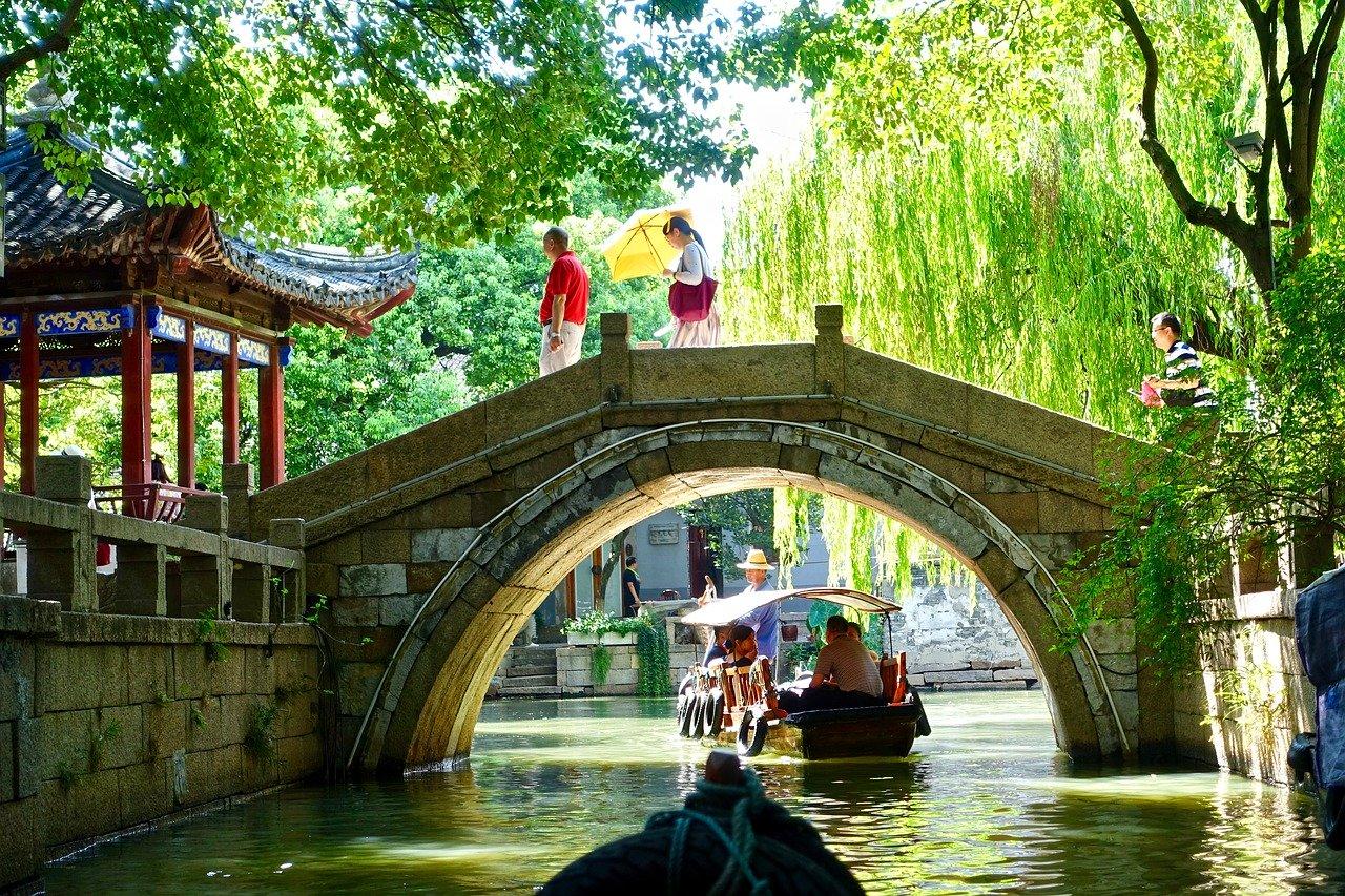 Cầu nhỏ ở Tô Châu