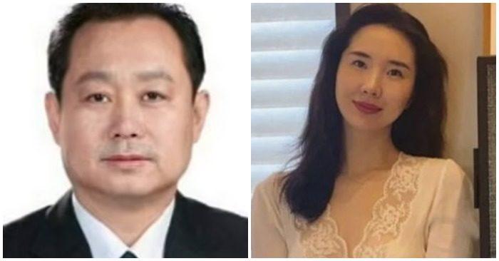 Thứ trưởng An ninh Trung Quốc Đổng Kinh Vĩ và con gái Dong Yang (ảnh: Internet).
