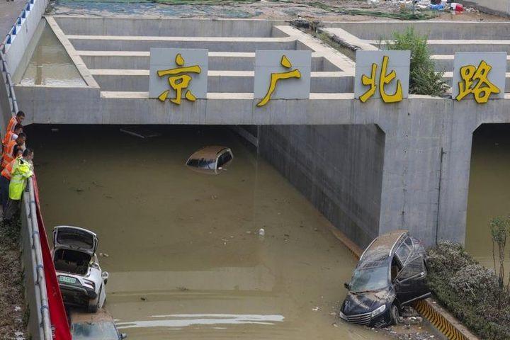 Trung Quốc chưa qua cơn lụt lịch sử lại phải đối phó bão lớn - Báo Pháp  Luật TP.HCM