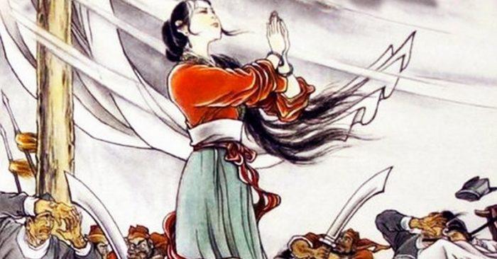 """Dị tượng """"tuyết rơi tháng 6"""" và nỗi oan thiên cổ của nàng Đậu Nga"""