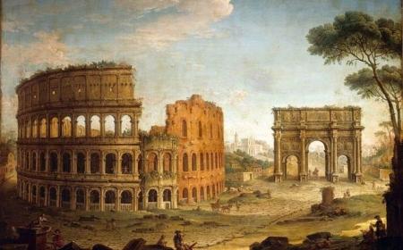 Nghệ thuật đường phố: Thành Rome ngày và đêm
